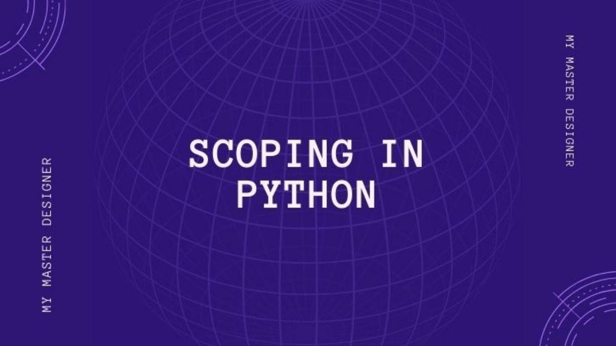 Scoping In Python