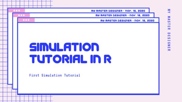 Simulation Tutorial In R