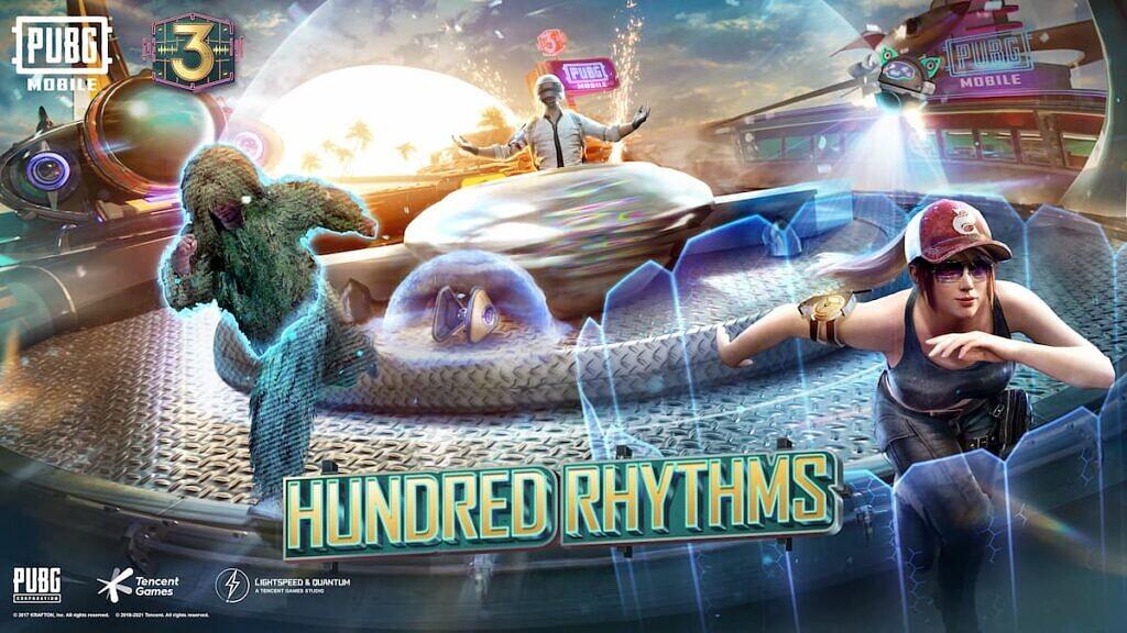 'Hundred Rhythms' Theme In PUBG Mobile
